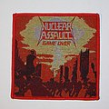Nuclear Assault - Game Over Woven patch