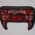 Voivod - Logo red woven patch