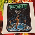 Testament -  Dark Roots Of Thrash Woven patch