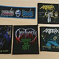Anthrax - Patch - Some patches looking to be swapped