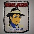 Michael Jackson - Patch - Michael Jackson - Moonwalker Printed patch