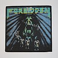 Forbidden - Twisted into Form Woven patch