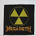 Megadeth  - Radiation Woven patch