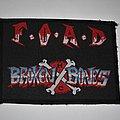 Broken Bones - F.O.A.D. Woven patch