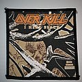 Overkill - I Hear Black Woven patch