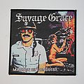 Savage Grace - Master of Disguise Woven patch