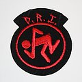 D.R.I. - Ebroidered logo patch