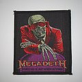 Megadeth - Peace Sells... but Who's Buying? Woven patch