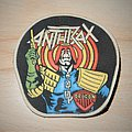 Anthrax - Patch - Anthrax - Judge Dredd Rubber patch