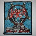 Slayer - Patch - Slayer - Altar Of Sacrifice Woven patch
