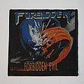 Forbidden - Forbidden Evil Woven patch