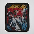 Anthrax - Spreading the Disease Woven patch