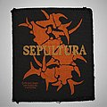 Sepultura - Patch - Sepultura - Woven logo patch