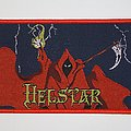 Helstar - Burning Star Woven patch