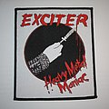 Exctiter - Heavy Metal Maniac Woven patch