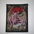 Slayer - Pink Demon Woven patch