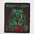 Flotsam and Jetsam - Doomsday for the Deceiver Woven patch