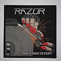 Razor - Patch - Razor - Malicious Intent Woven patch
