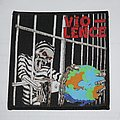 Vio-Lence - World  in a World Woven patch