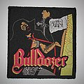 Bulldozer - Patch - Bulldozer -  The Day of Wrath Woven patch