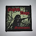 English Dogs - Metalmorphosis Woven patch