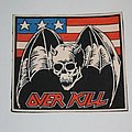 Overkill - Under the Influence Rubber patch