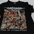 Carcass - Reek of Putrefaction black t shirt