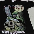 Autopsy - Feast for a Funeral t shirt