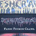 Fleshcrawl - Flesh Fuckin' Crawl Patch