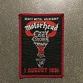Motörhead - Patch - Heavy Metal Holocaust 1981 Patch