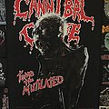 Cannibal Corpse - Tomb Of The Mutilated - 1993 Blue Grape Merchandising - Backpatch