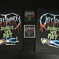 Obituary - Patch - Obituary - Slowly We Rot Patch Collection