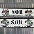 S.O.D. - Patch - S.O.D. Patches