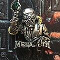 Megadeth - Pin / Badge - Megadeth Metal Badge