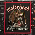 Motörhead - Patch - Motörhead - Orgasmatron Patch