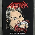 Anthrax - Fistful Of Metal Backpatch