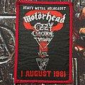 Motörhead - Patch - Heavy Metal Holocaust Patch