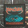 """Sepultura - Patch - Sepultura """"schizophrenia""""  1991"""