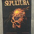 Sepultura - Patch - Sepultura - Beneath The Remains Backpatch