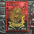 Dismember - Patch - Dismember - Under Blood Red Skies Patch (1st version)