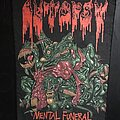 Autopsy - Patch - Autopsy - Mental Funeral Backpatch