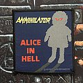 Annihilator - Patch - Annihilator - Alice In Hell Patch