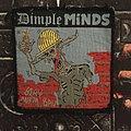 Dimple Minds - Patch - Dimple Minds - Blau Aufm Bau Patch