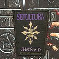 Sepultura - Patch - Sepultura - Chaos A.D. Patch
