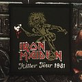 Iron Maiden - Patch - Iron Maiden - Killer Tour 1981 vintage Patch