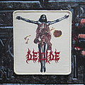 Deicide - Once Upon The Cross Patch