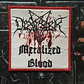 Desaster - Patch - Desaster - Metalized Blood Patch