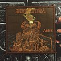 Sepultura - Arise - vintage brown border patch