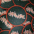 """Carnivore """"S/T"""" circular woven patch lim.100"""