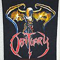 """Obituary """"The End Complete"""" Original Backpatch"""